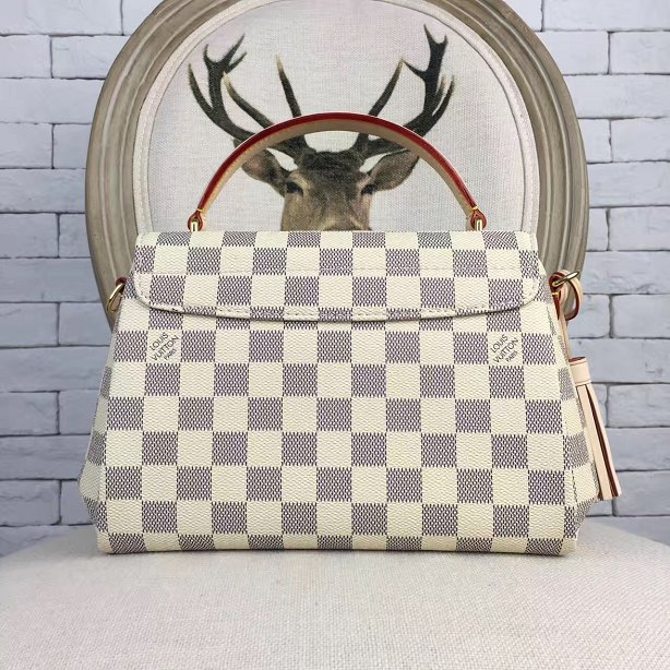 2017 Louis Vuitton 1:1 Damier Azur Canvas Croisette N41581 bag