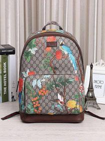 1f42ab4791ef4c 2017 GG 1:1 original fabric Tian GG Supreme backpack 428027