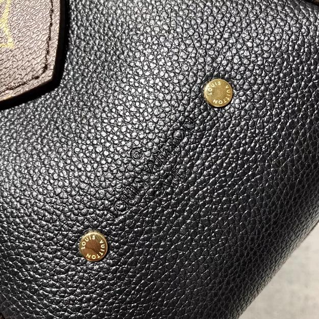 2017 louis vuitton top 1:1 original monogram manhattan M44207 black