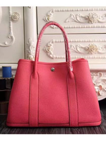 Hermes original calfskin garden party 36 bag G0360 Watermelon Red
