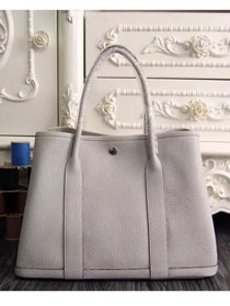 Hermes original calfskin garden party 36 bag G0360 beige