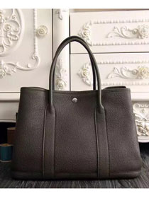 Hermes original calfskin garden party 36 bag G0360 chocalate