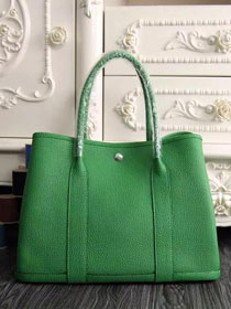 Hermes original calfskin garden party 36 bag G0360 green