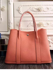 Hermes original calfskin garden party 36 bag G0360 orange
