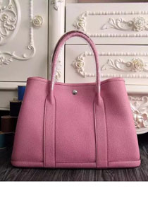 Hermes original calfskin garden party 36 bag G0360 pink