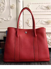 Hermes original calfskin garden party 36 bag G0360 red