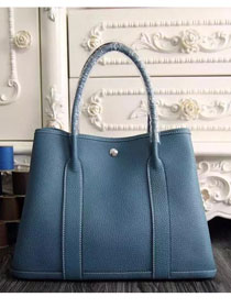 Hermes original calfskin garden party 36 bag G0360 sky blue