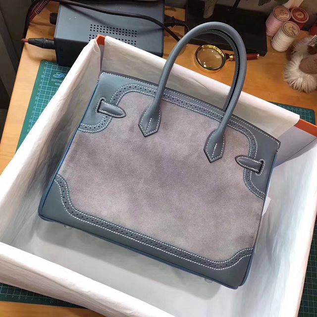 771397015a9 ... order 2017 hermes original togo leather birkin 35 bag h350 bluegray  d56c6 31728