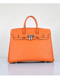Hermes original epsom leather birkin 30 bag H30 orange