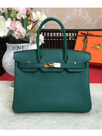 Hermes original togo leather birkin 30 bag H30-1 olive