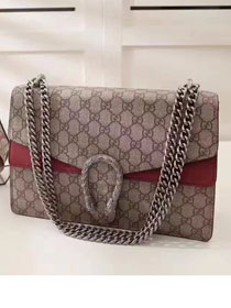 2017 GG dionysus medium supreme shoulder bag 400235 bordeaux