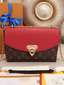 2018 louis vuitton original monogram saint placide M43713 red