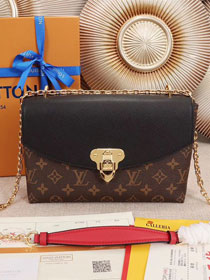 2018 louis vuitton original monogram saint placide M43714 black