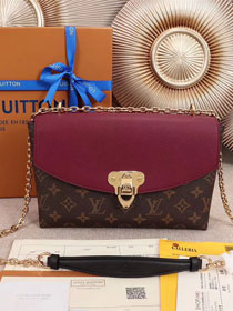 2018 louis vuitton original monogram saint placide M43715 bordeaux