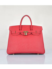 Hermes original epsom leather birkin 30 bag H30 red