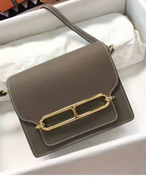 Hermes roulis original togo leather R18 gray