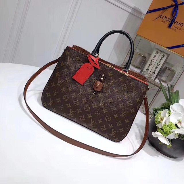 2018 Louis Vuitton Original Monogram Canvas Millefeuille Tote Bag