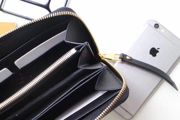 arrives a6815 b0f74 Louis vuitton monogram empreinte zippy wallet M61864 black