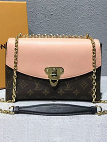 2018 louis vuitton original monogram saint placide M44274 pink