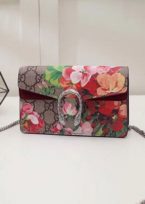 2018 GG original canvas dionysus blooms mini shoulder bag 476432 wine