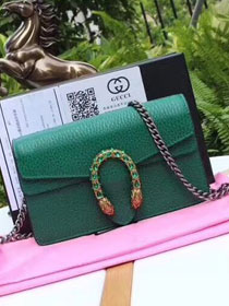 2018 GG original calfskin dionysus mini shoulder bag 476432 green