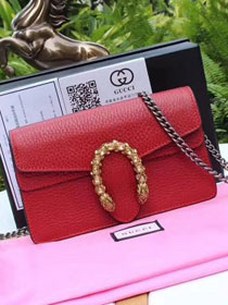 2018 GG original calfskin dionysus mini shoulder bag 476432 red