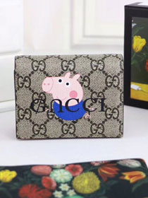GG original canvas pets card case 499380 blue