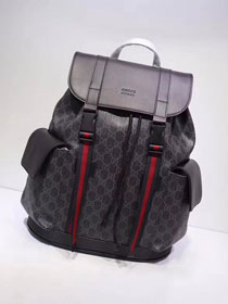 GG original canvas soft supreme backpack 450958 black