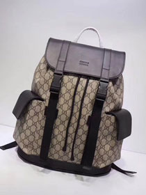GG original canvas soft supreme backpack 450958 coffee