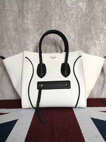 2018 celine original cabas luggage phantom bag 9908 white