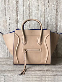 Celine original smooth calfskin luggage phantom bag 9901-2 nude