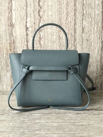 Celine original grained calfskin mini belt bag 99970