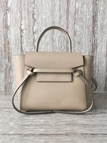 Celine original grained calfskin mini belt bag 99970 apricot