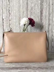 Celine original smooth lambskin large trio bag 55420 apricot