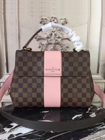 2018 louis vuitton damier ebene bond street BB N41071 pink