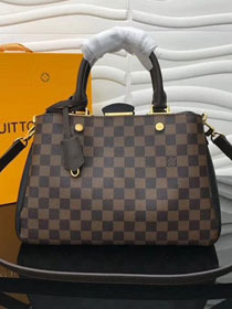 2018 louis vuitton original damier ebene brittany N41673 black