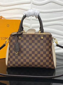 2018 louis vuitton original damier ebene brittany N44020 cream