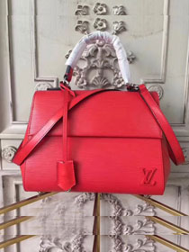 Louis vuitton original epi leather cluny BB M41337 red