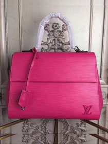 Louis vuitton original epi leather cluny MM M41302 rose red