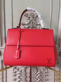 Louis vuitton original epi leather cluny MM M41333 red