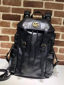 2018 GG original calfskin belle backpack 526908 black