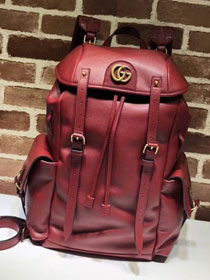 2018 GG original calfskin belle backpack 526908 red