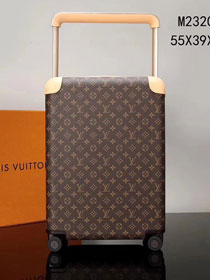 Louis vuitton original monogram canvas horizon 55 rolling luggage M23203
