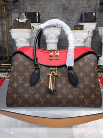 2018 louis vuitton original monogram tuileries M43795 red
