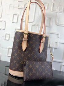 2018 louis vuitton original monogram bucket bag m42238