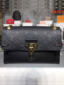 Louis vuitton original monogram empreinte vavin mm M44150 black