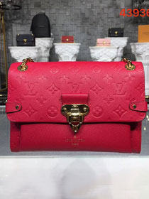 Louis vuitton original monogram empreinte vavin mm M44150 red