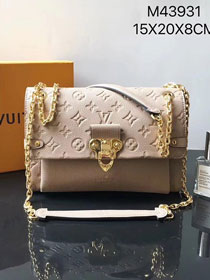 Louis vuitton original monogram empreinte vavin pm M43931 apricot