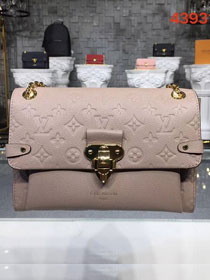 Louis vuitton original monogram empreinte vavin mm M44150 apricot