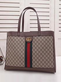 670301d218e89 2019 GG original canvas ophidia soft supreme large tote bag 547947 coffee